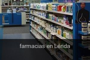 Farmacias en Lérida
